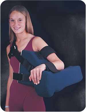 Shoulder Abduction Pillow with Harness | Shoulder Immobilizer Support Brace