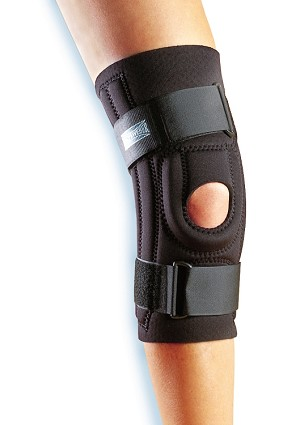 Hinged Patella Stabilizer - Inferior U Tubular Buttress  | Knee Support Brace