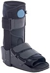 Short Aluminum Air Foot Brace