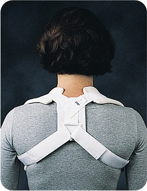 Comfor Clavicle Brace - Hook and Loop Closure | Shoulder Immobilizer Support Brace