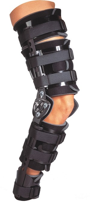 Telescoping TROM with Shells Post Op Knee Brace | Knee Support Brace